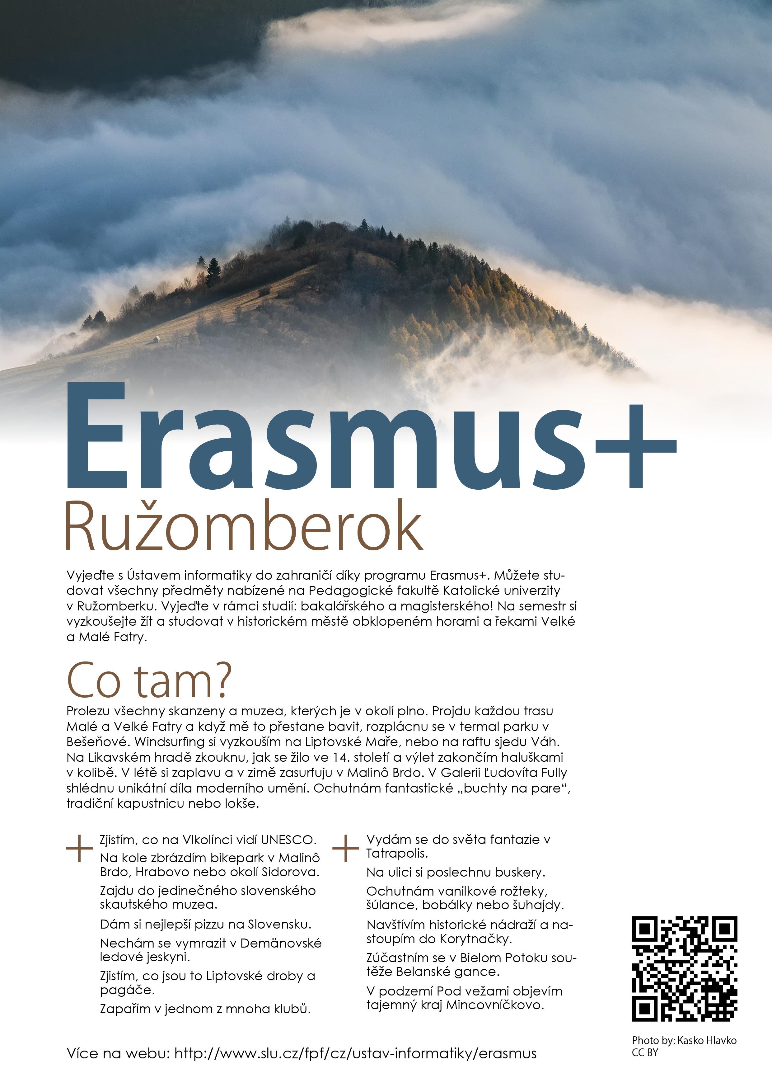 Erasmus - Ružomberok