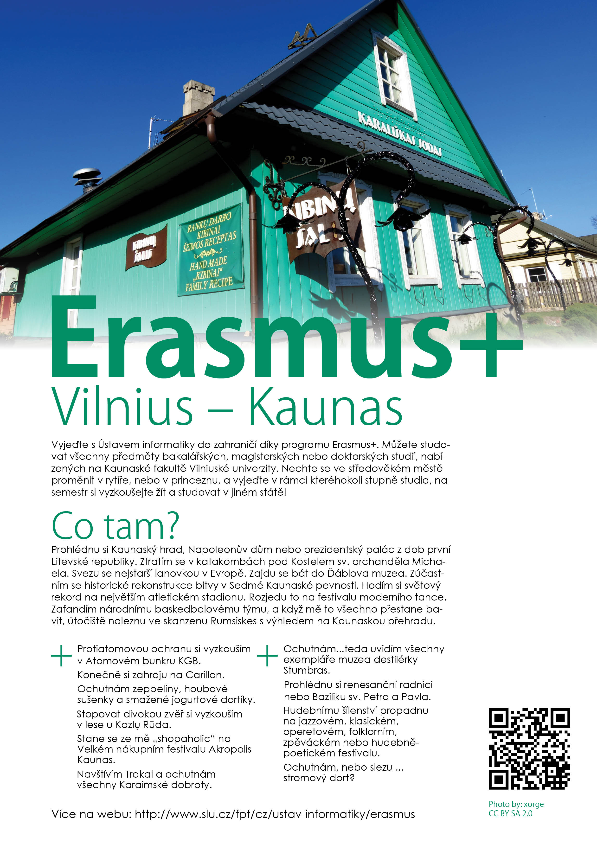 Erasmus - Vilnius-Kaunas